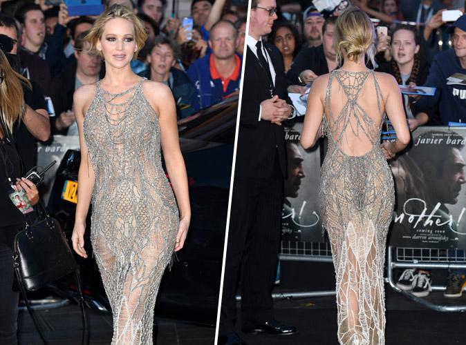 Jennifer Lawrence : Sa robe époustouflante à la première de Mother !