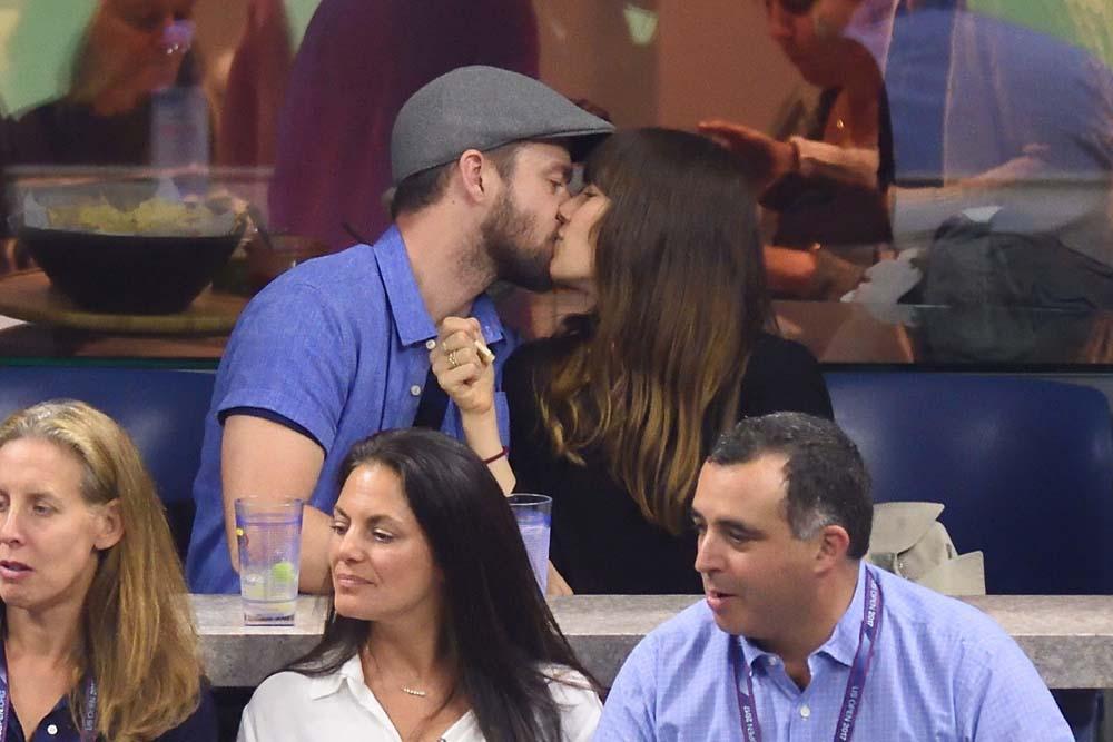 Justin Timberlake et Jessica Biel : bons baisers de l'US Open !
