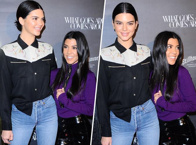 Kendall Jenner domine Kourtney Kardashian à l'évènement What Goes Around Comes Around