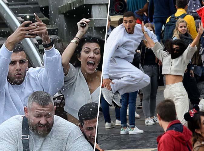 Kourtney Kardashian et Younes Bendjima : comme des gosses à Disneyland Paris !
