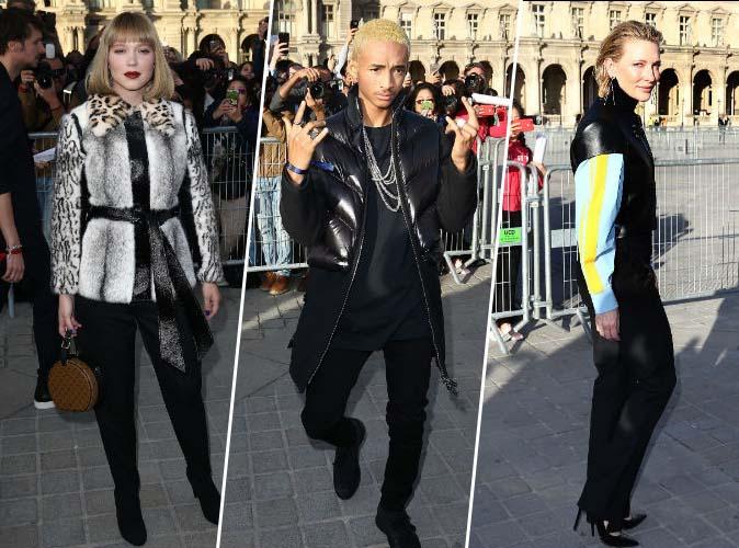 Léa Seydoux, Jaden Smith, Cate Blanchett... Hollywood ferme la Fashion week chez Vuitton !