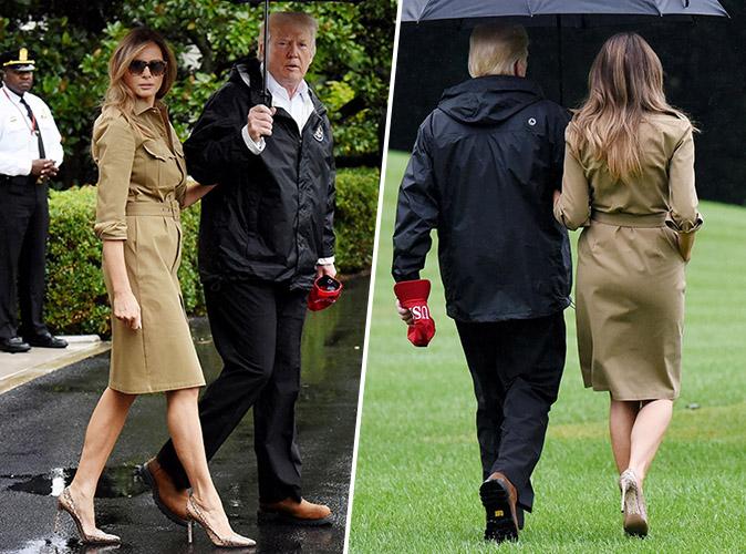 Melania Trump : Qu'importe les critiques, elle ne lâche pas ses escarpins !