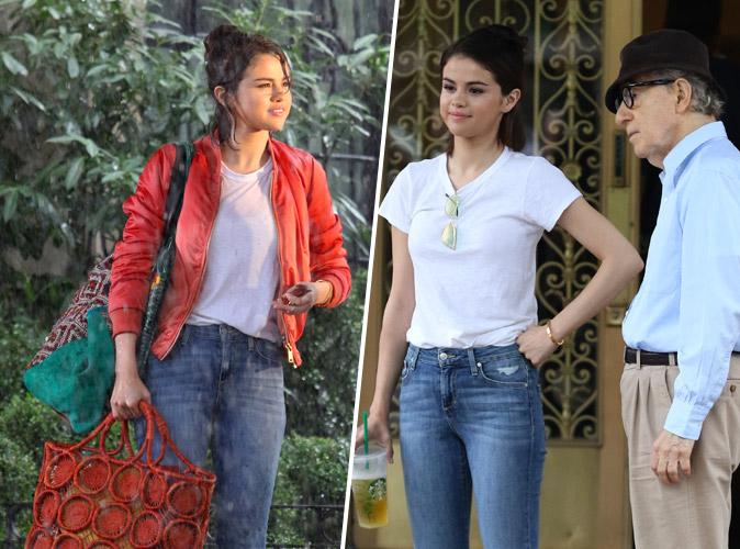 Selena Gomez : Les nouvelles images de son tournage avec Woody Allen